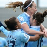 Manchester City Women vs Sporting Club Albion LIVE: Blues look to book semi-final spot and keep up perfect start